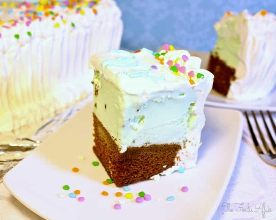 Homemade Ice Cream Cake