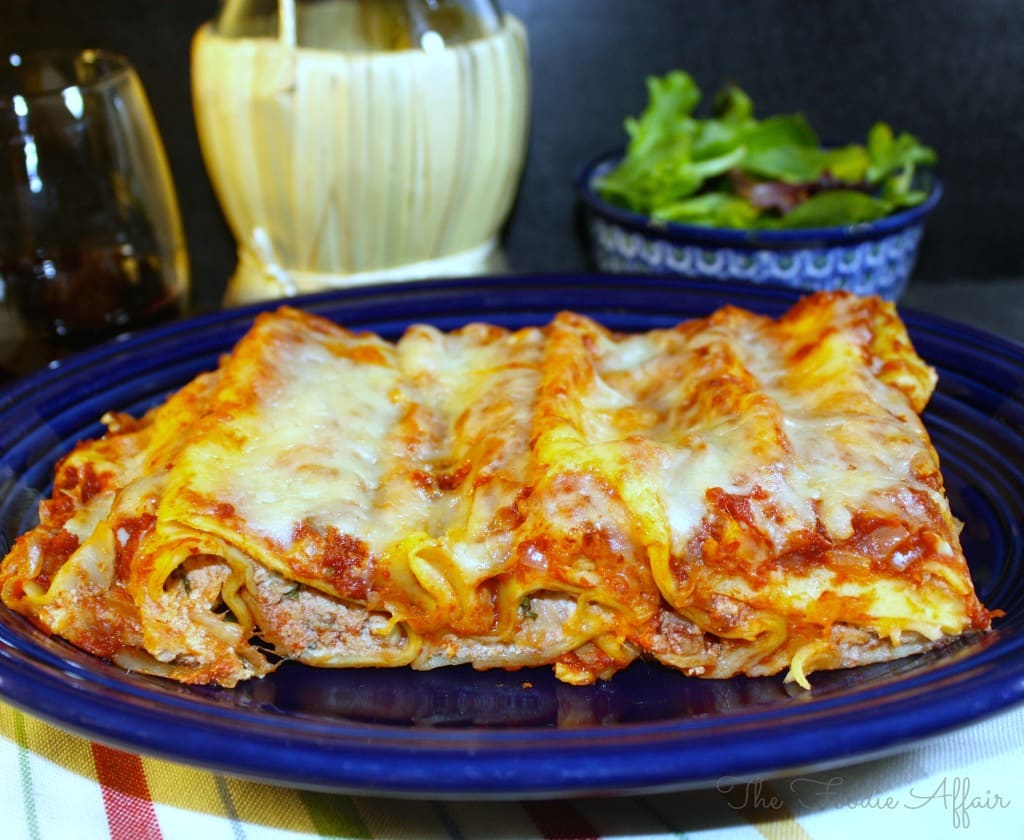 how to make easy ricota filled pasta chiken