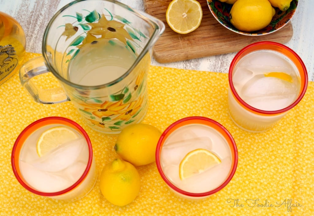 Spiked Lemonade - The Foodie Affair