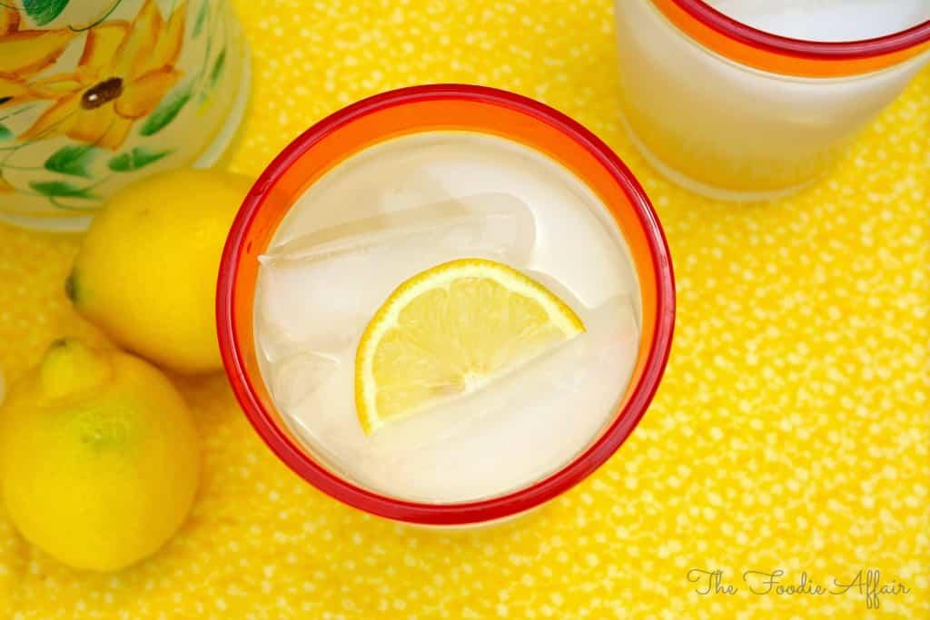 Spiked Lemonade - The Foodie Affair