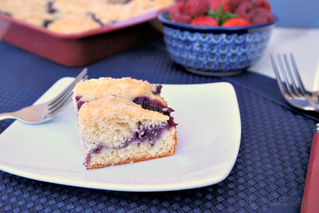 Berry Coffee Cake - The Foodie Affair