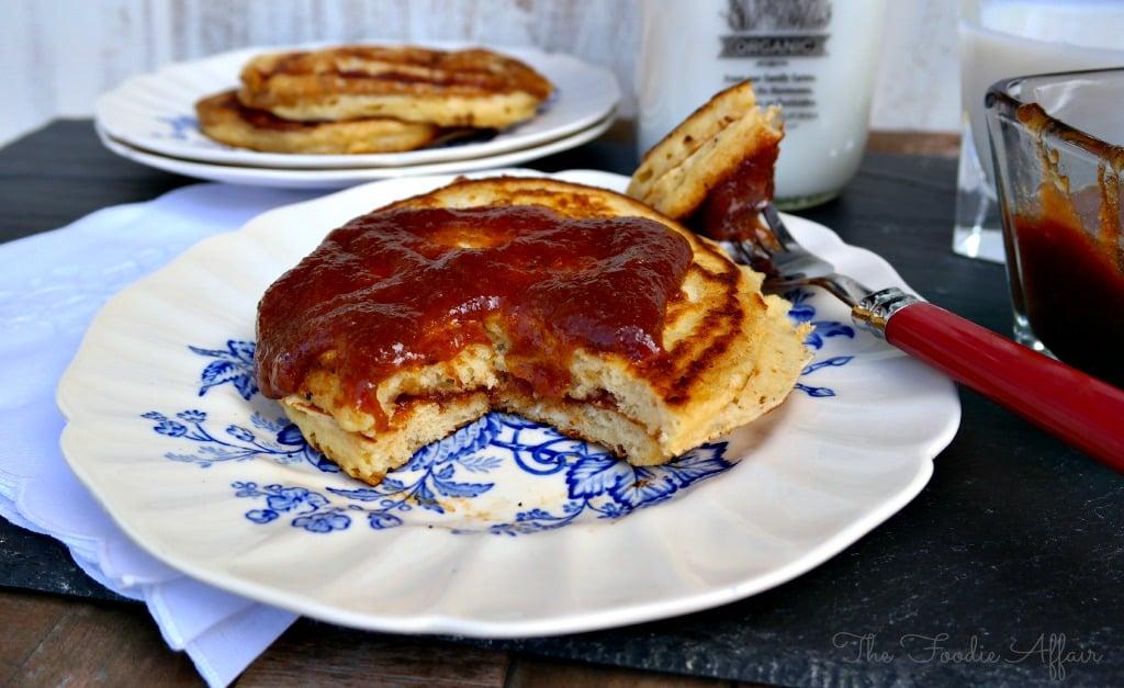 Cinnamon Apple Pancakes - The Foodie Affair
