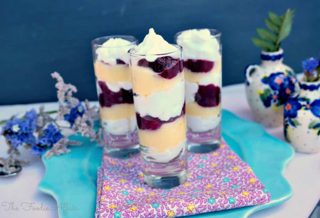 Yogurt Berry Parfait - The Foodie Affair