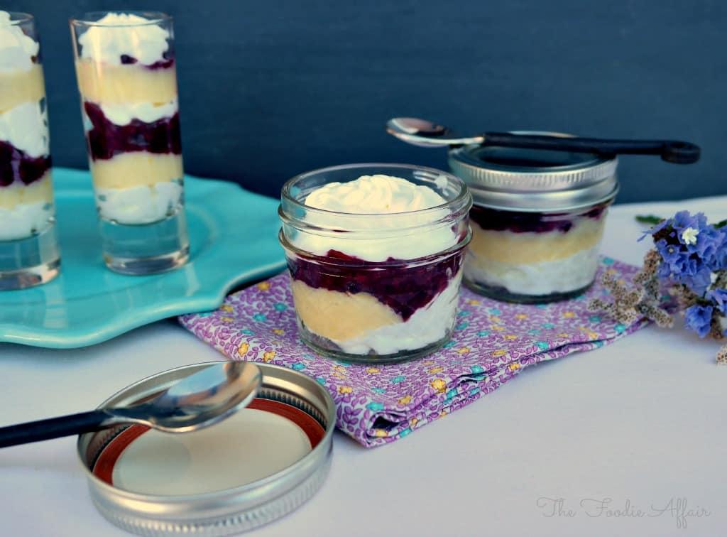 Yogurt Berry Parfaits - The Foodie Affair