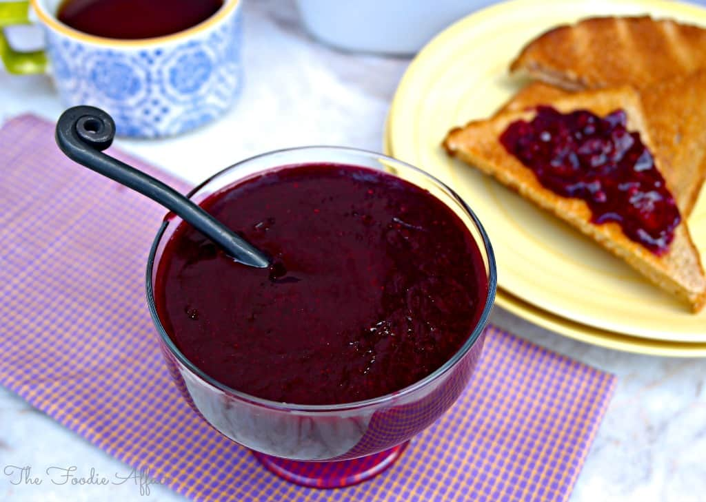 Homemade Berry Sauce - The Foodie Affair