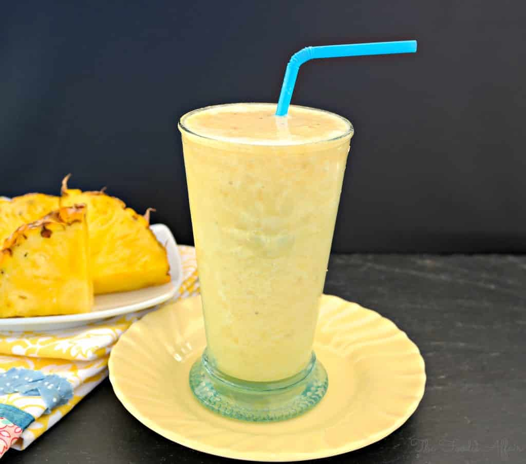 Pineapple Smoothie - The Foodie Affair