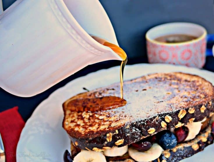High Protein French Toast Sandwich
