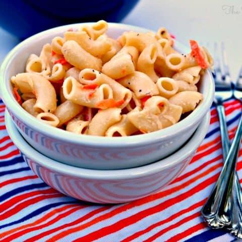 Hawaiian Style Macaroni Salad - The Foodie Affair