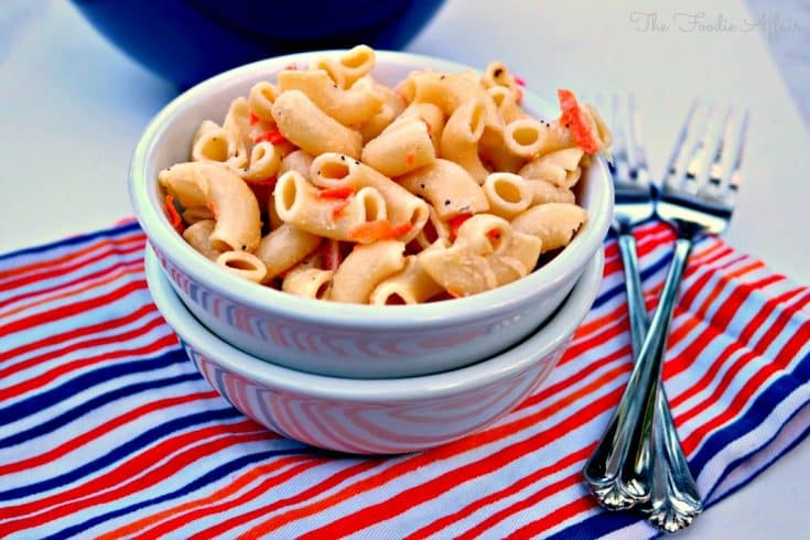 Hawaiian Style Macaroni Salad - The Foodie Affair