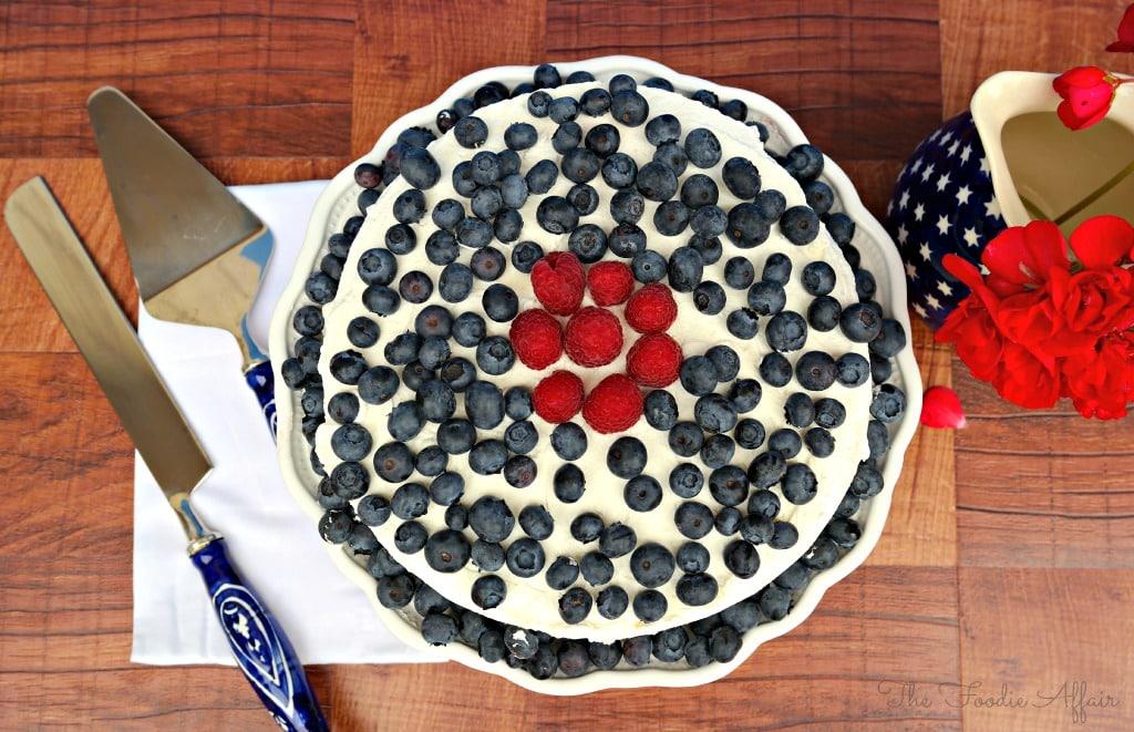 Berry Tiramisu Cake - The Foodie Affair