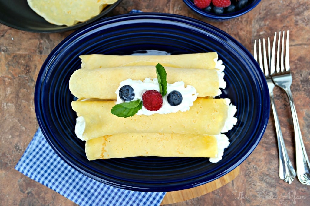Basic Crepe Recipe - The Foodie Affair