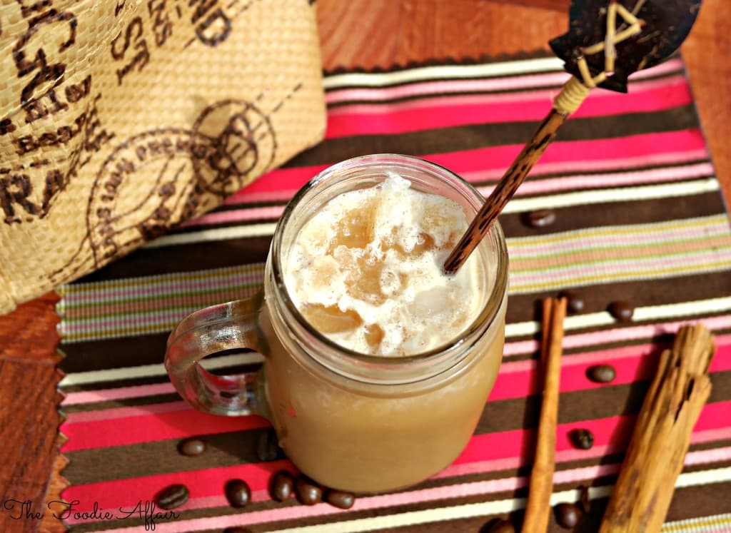 Frosty Cappuccino - The Foodie Affair
