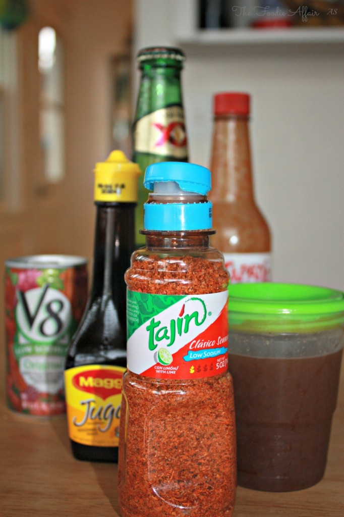 Michelada Recipe - The Foodie Affair #Mexican #cocktail #beer #spice #happyhour #beverage