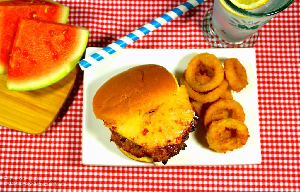 Teriyaki Pineapple Turkey Burgers - The Foodie Affair #burger #pineapple #turkey #grill #summer #BBQ #teriyaki #recipe