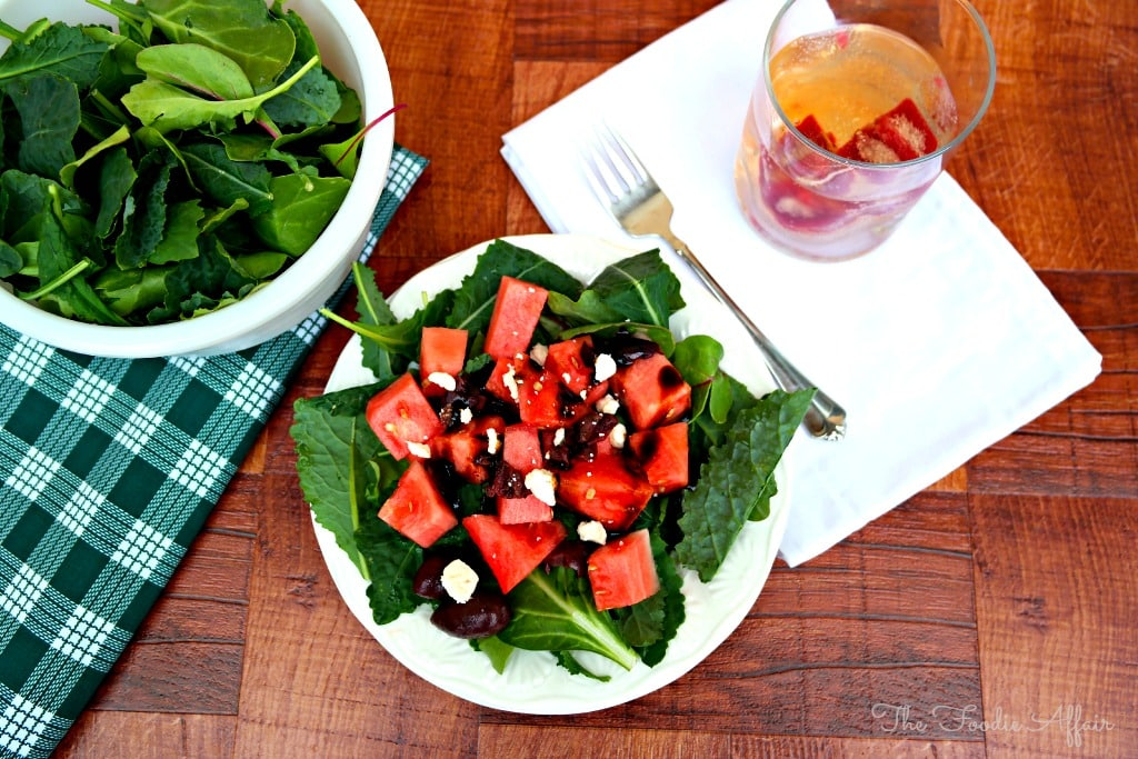 Mediterranean Watermelon Salad - The Foodie Affair