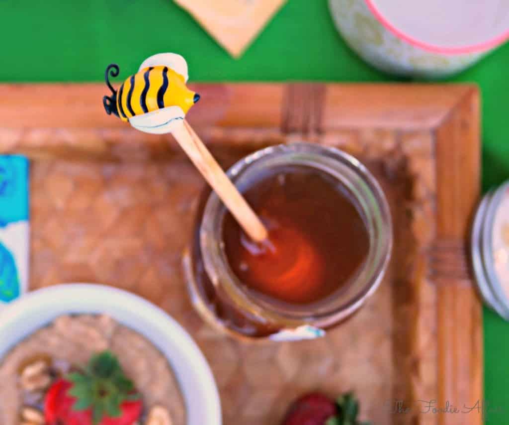 Amaranth Porridge with honey - The Foodie Affair