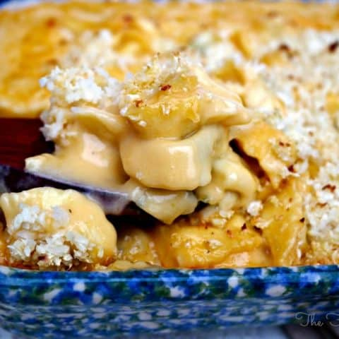 Tortellini Mac and Cheese - The Foodie Affair