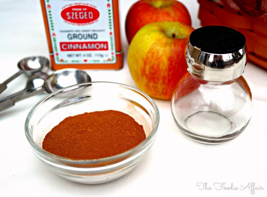 Ingredients for Apple Pie Spice Mix