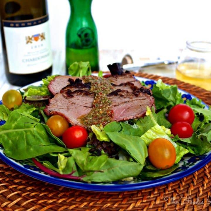 Chimichurri Steak Salad - The Foodie Affair