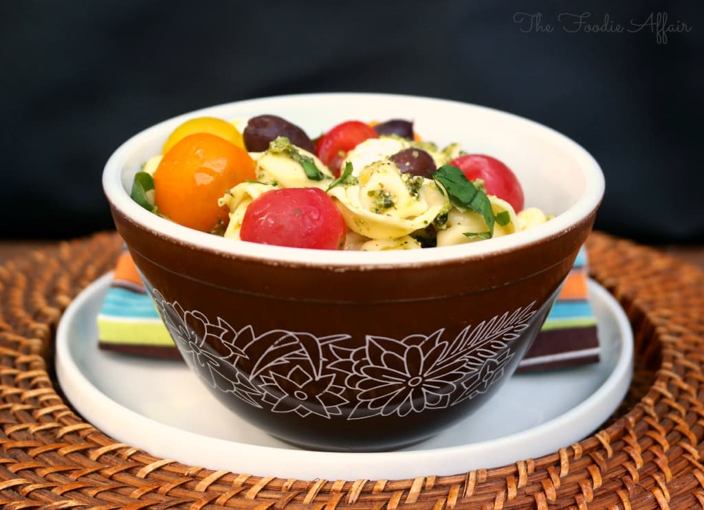 Tortellini Pesto Salad - The Foodie Affair