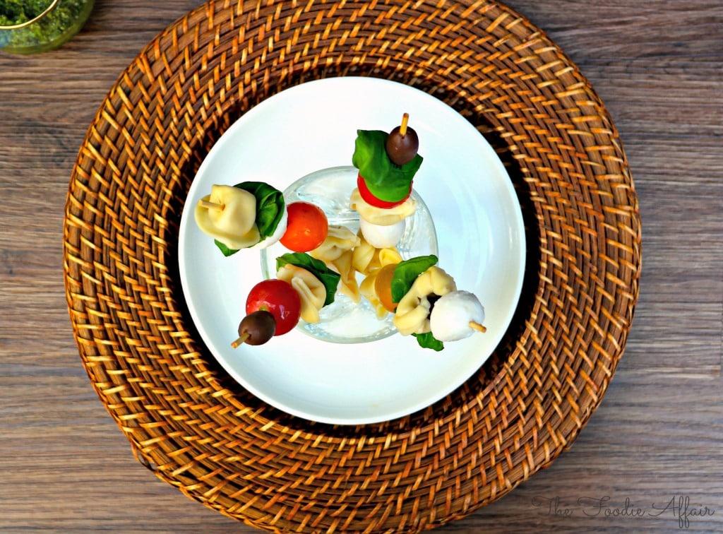 Tortellini Pesto Salad - The Foodie Affair