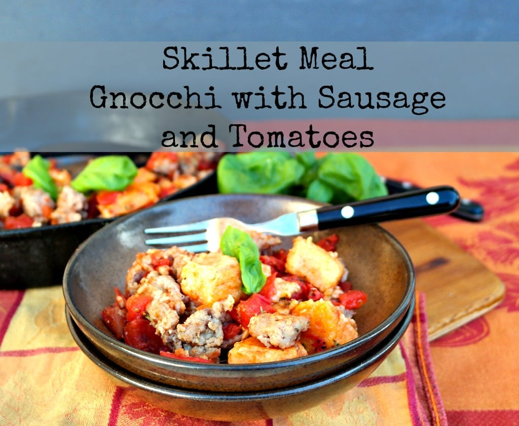 Gnocchi with Sausage and Tomatoes - The Foodie Affair