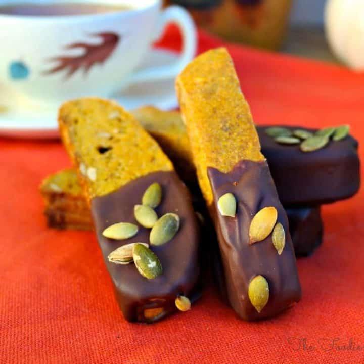 Pumpkin Biscotti - The Foodie Affair