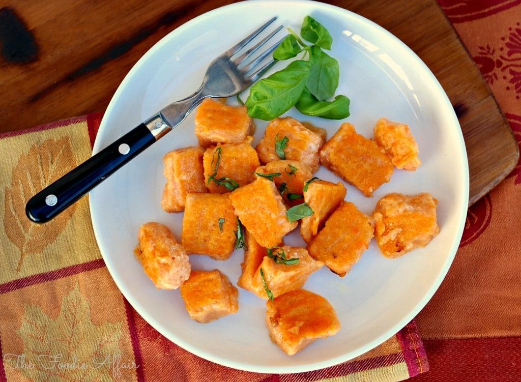 Sweet Potato Gnocchi - The Foodie Affair