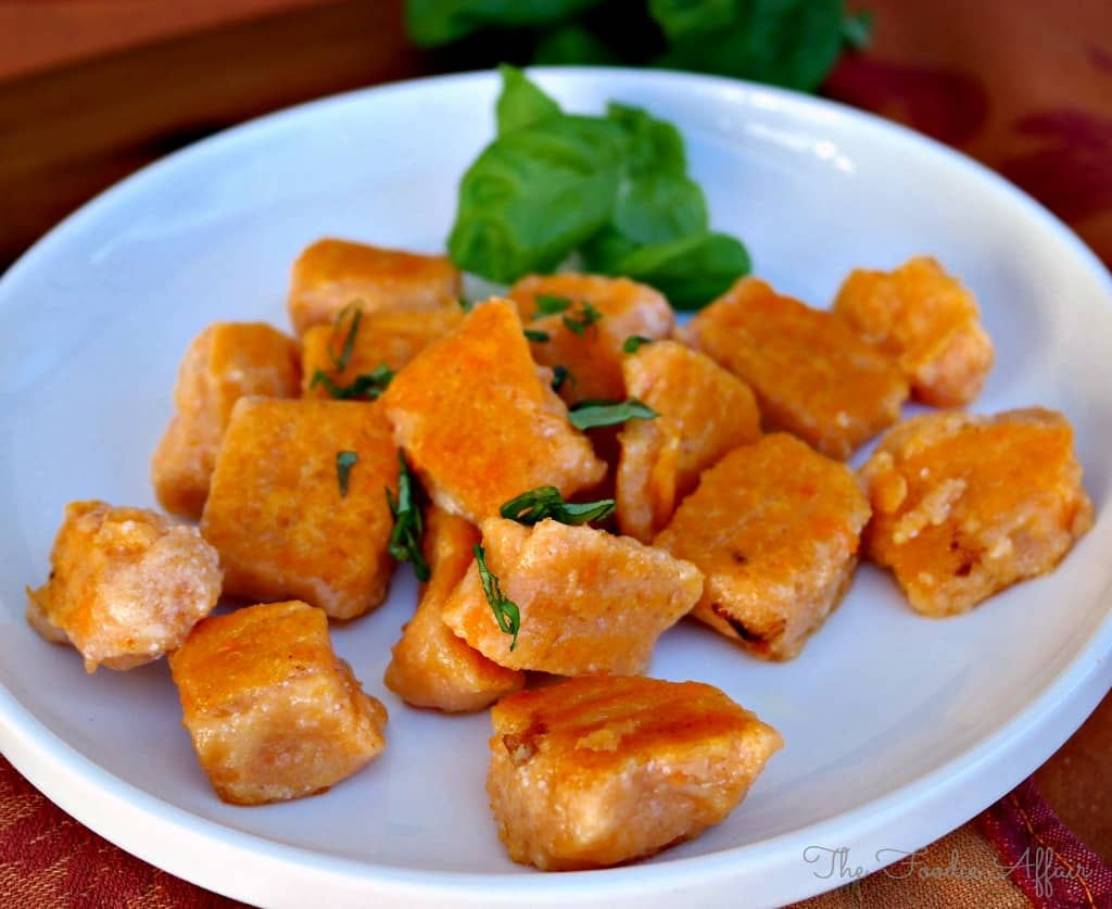 Sweet Potato Gnocchi - The Foodie Affair