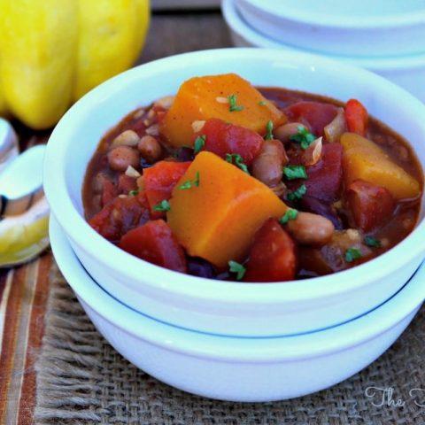 Vegetarian Chili - The Foodie Affair