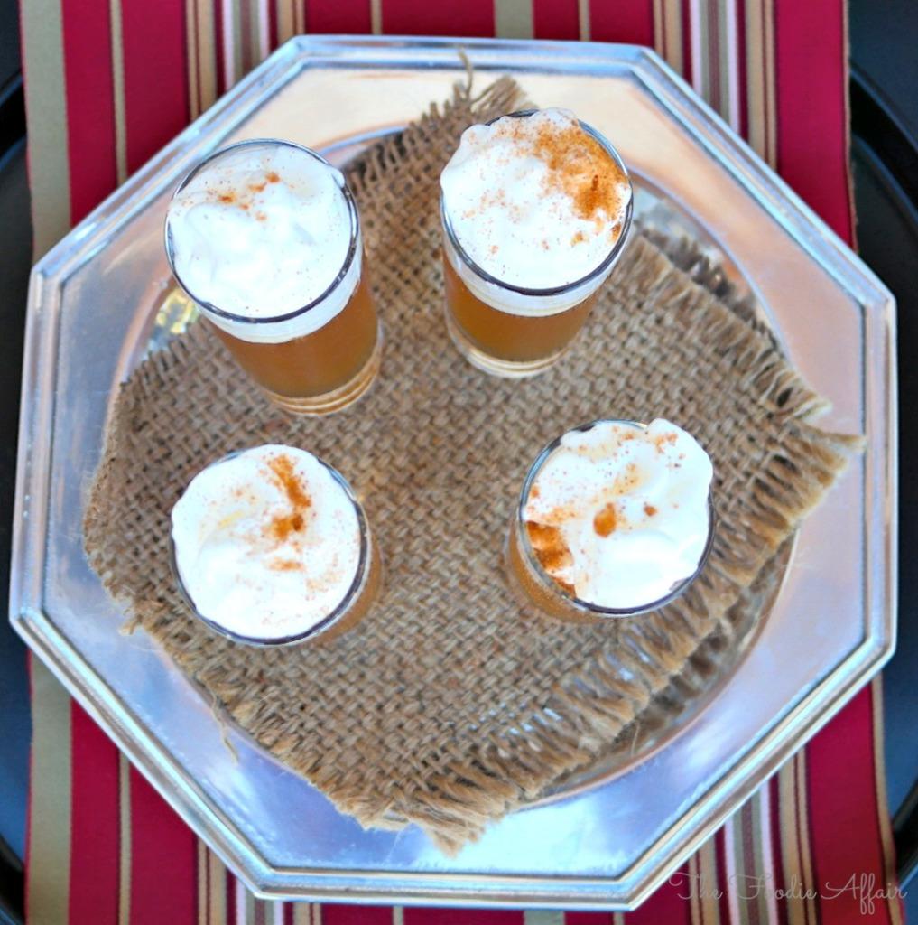 Apple Pie Shooter - The Foodie Affair