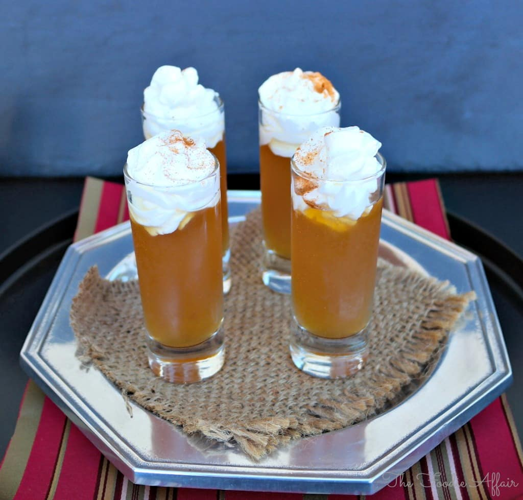 Apple Pie Shooter - The Foodie Affair