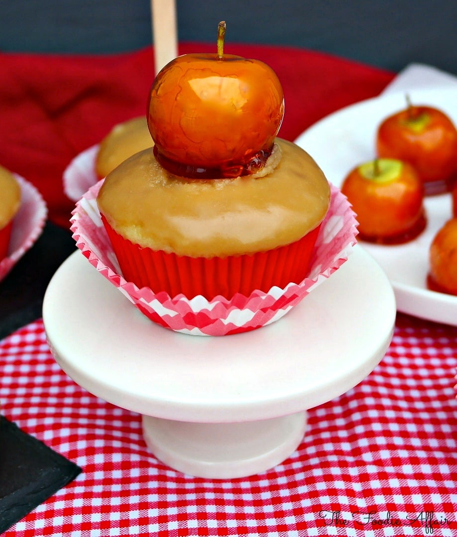 Buttermilk Cupcakes with Caramel Icing - The Foodie Affair