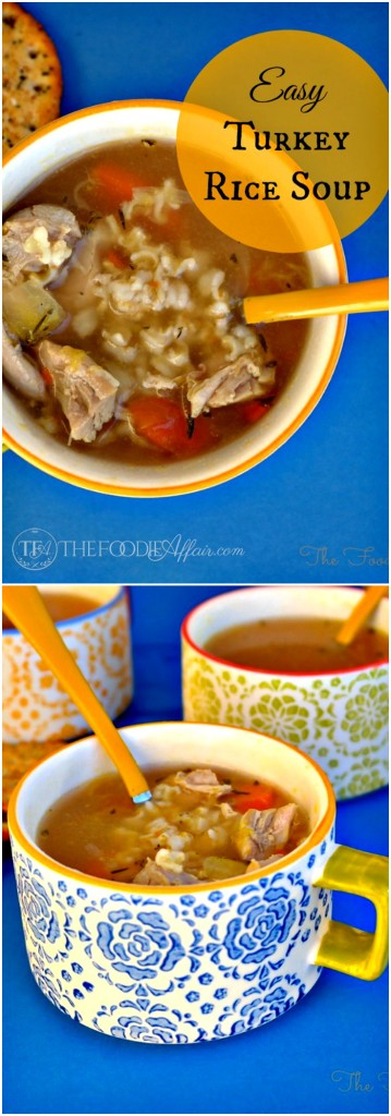 Easy Turkey Rice Soup