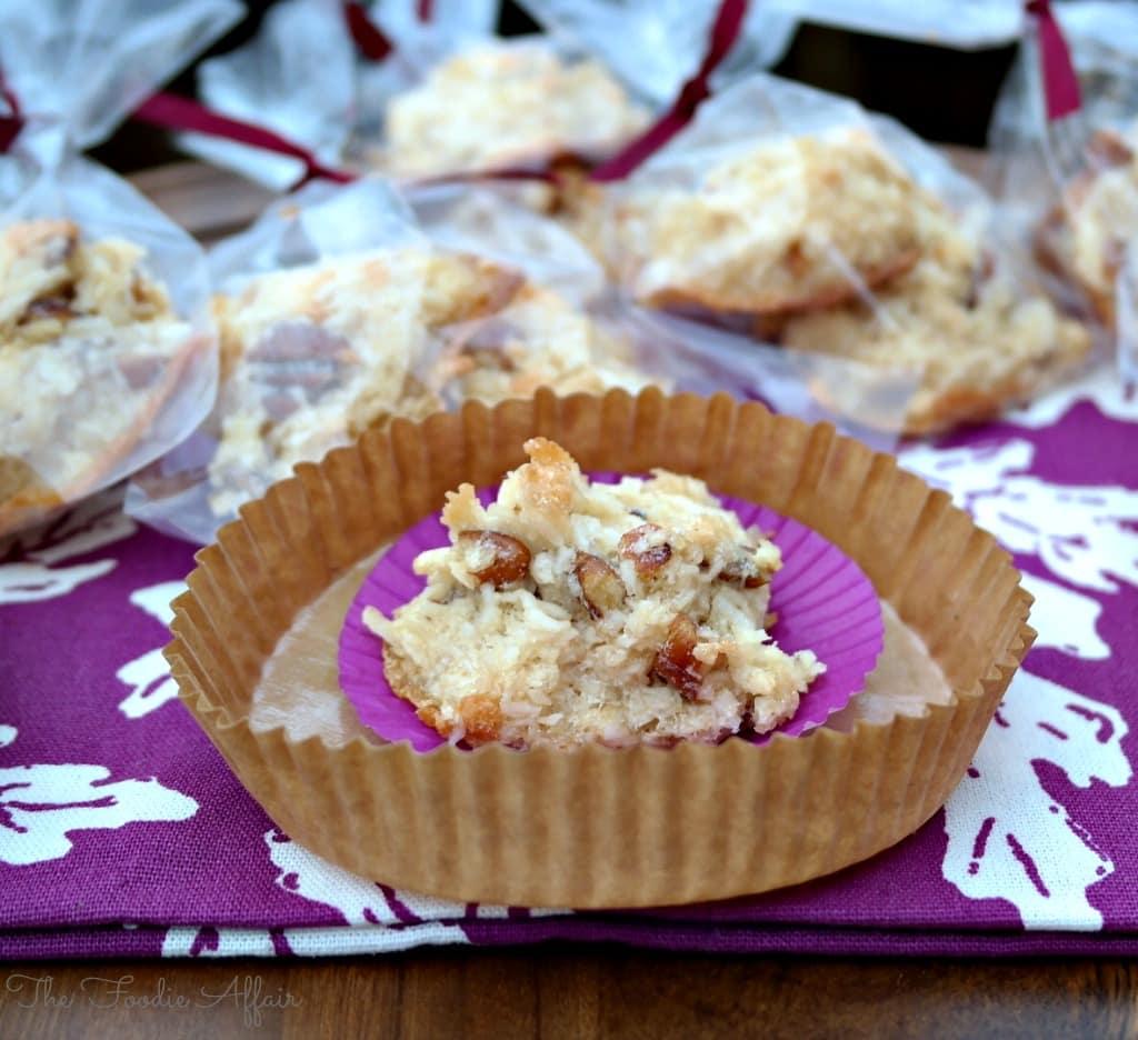 Maple Pecan Coconut Macaroons - The Foodie Affair