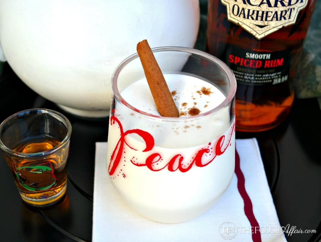 Coquito Cocktail - The Foodie Affair