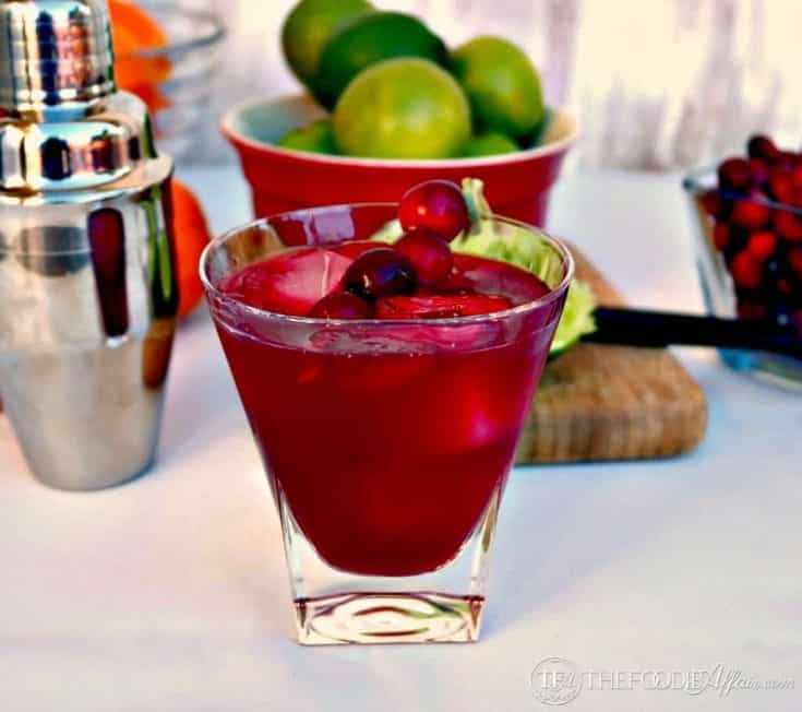 Cranberry Cosmopolitan Cocktail