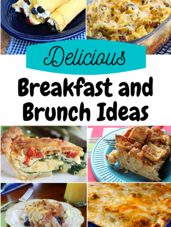 A variety of breakfast ideas for brunch