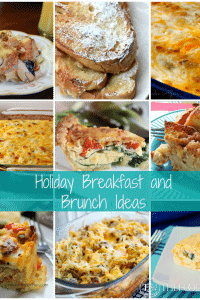 Holiday Breakfast and Brunch Ideas - The Foodie Affair