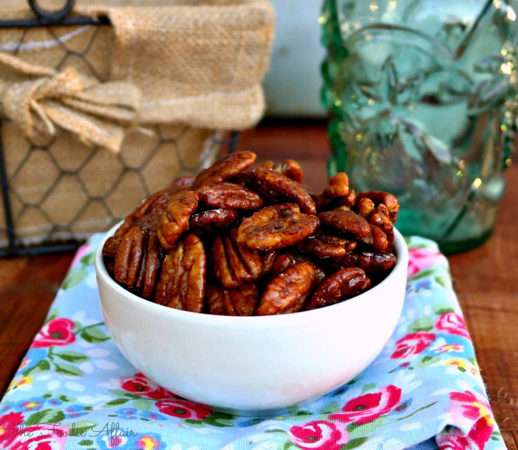 These Maple Glazed Pecans are a scrumptious nut to snack on just as ...