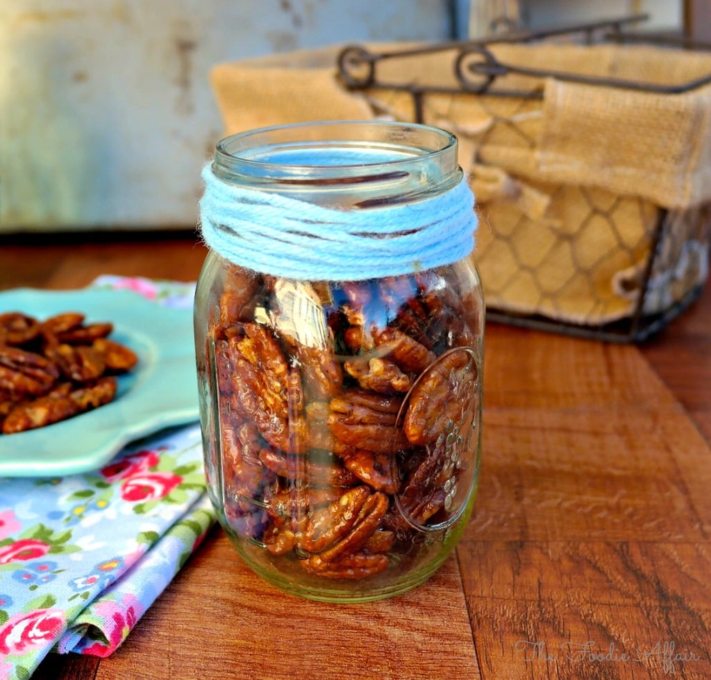 Maple Glazed Pecans - The Foodie Affair