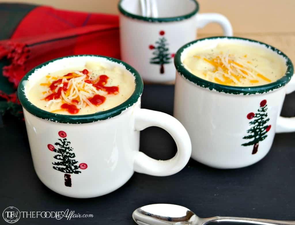Simple Potato Soup - The Foodie Affair
