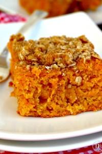 Sweet Potato Coffee Cake - The Foodie Affair