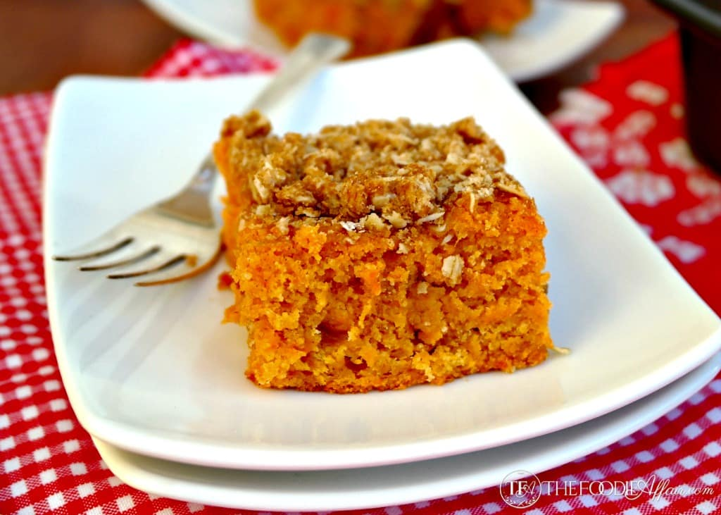 Sweet Potato Coffee Cake - The Foodie Affair