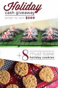 8 must bake cookies Giveaway