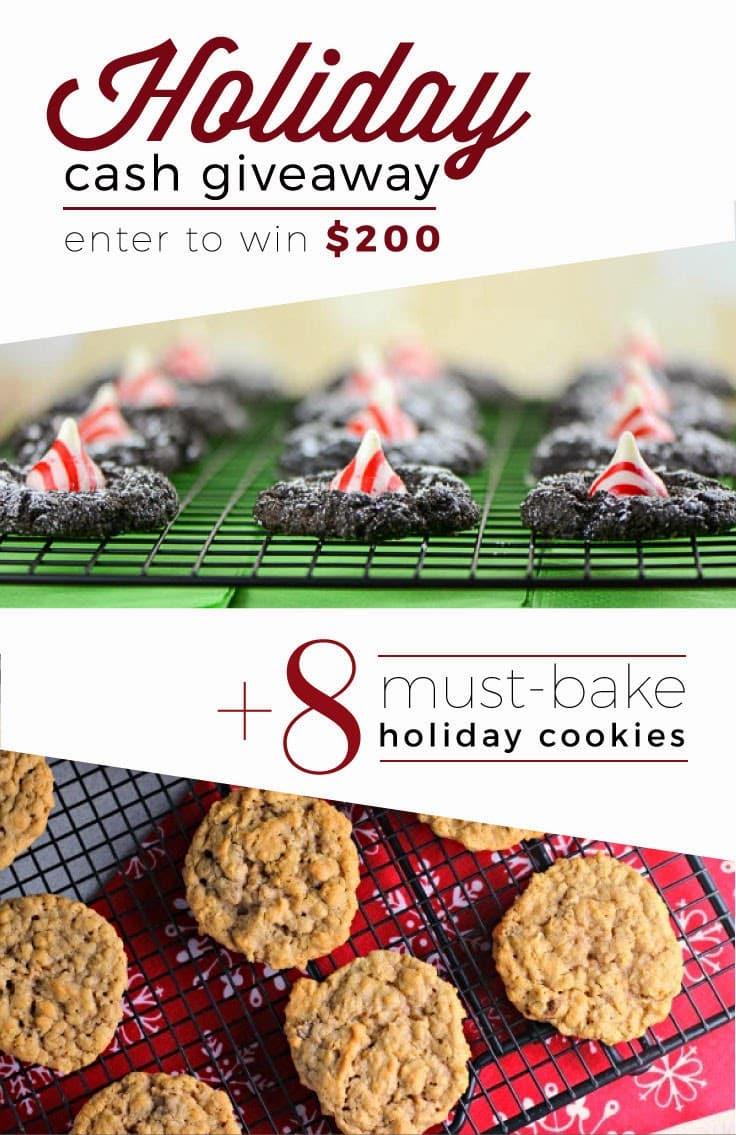 8 must bake cookies Giveaway