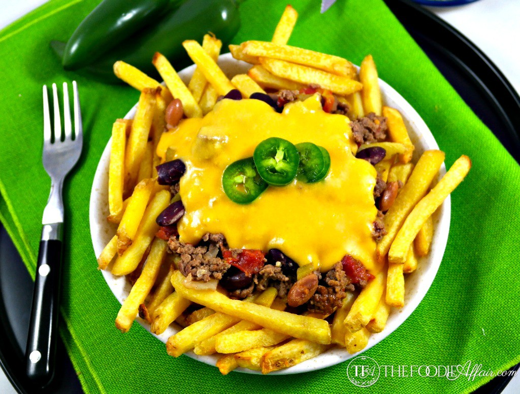 Chili Cheese Fries - The Foodie Affair