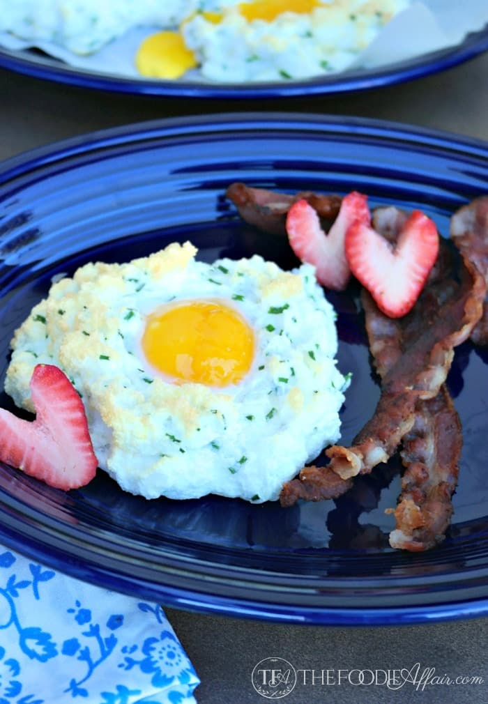 Eggs in Clouds - The Foodie Affair