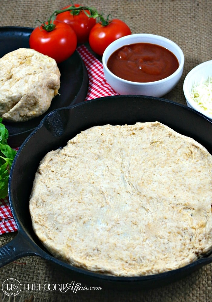 how to make pizza dough with white whole wheat flour