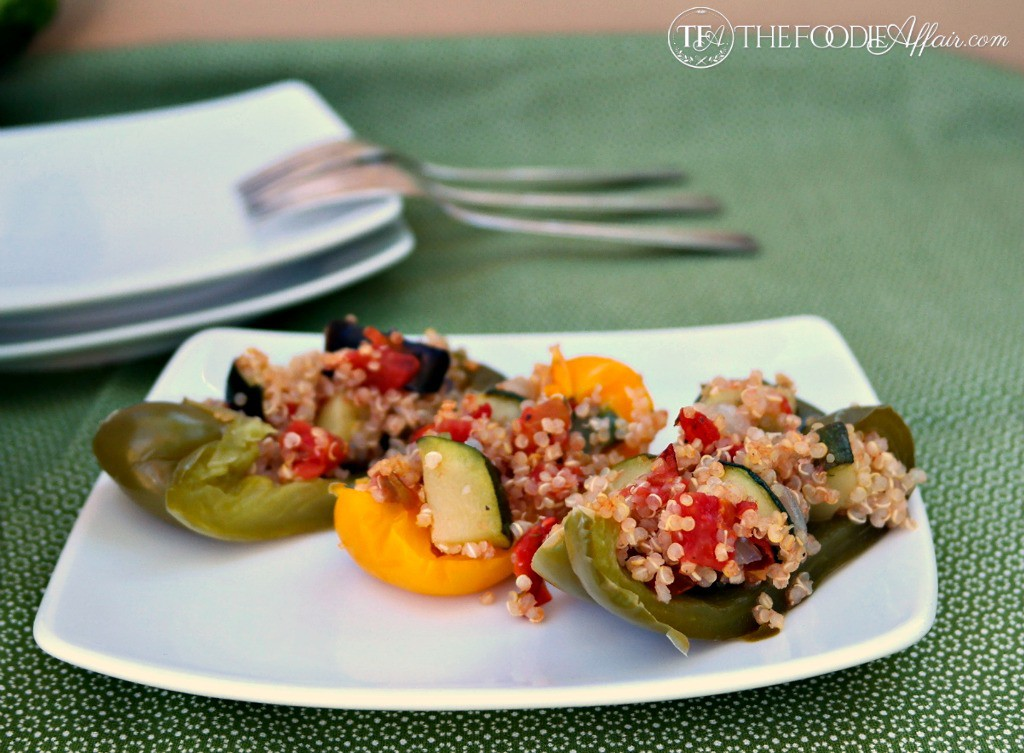Quinoa with Fire Roasted Tomatoes - The Foodie Affair